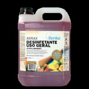 Desinfetante Concentrado Floral 5 litros Mirax Renko 1/200