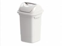 Lixeira 14 litros com Tampa Basculante Plasvale